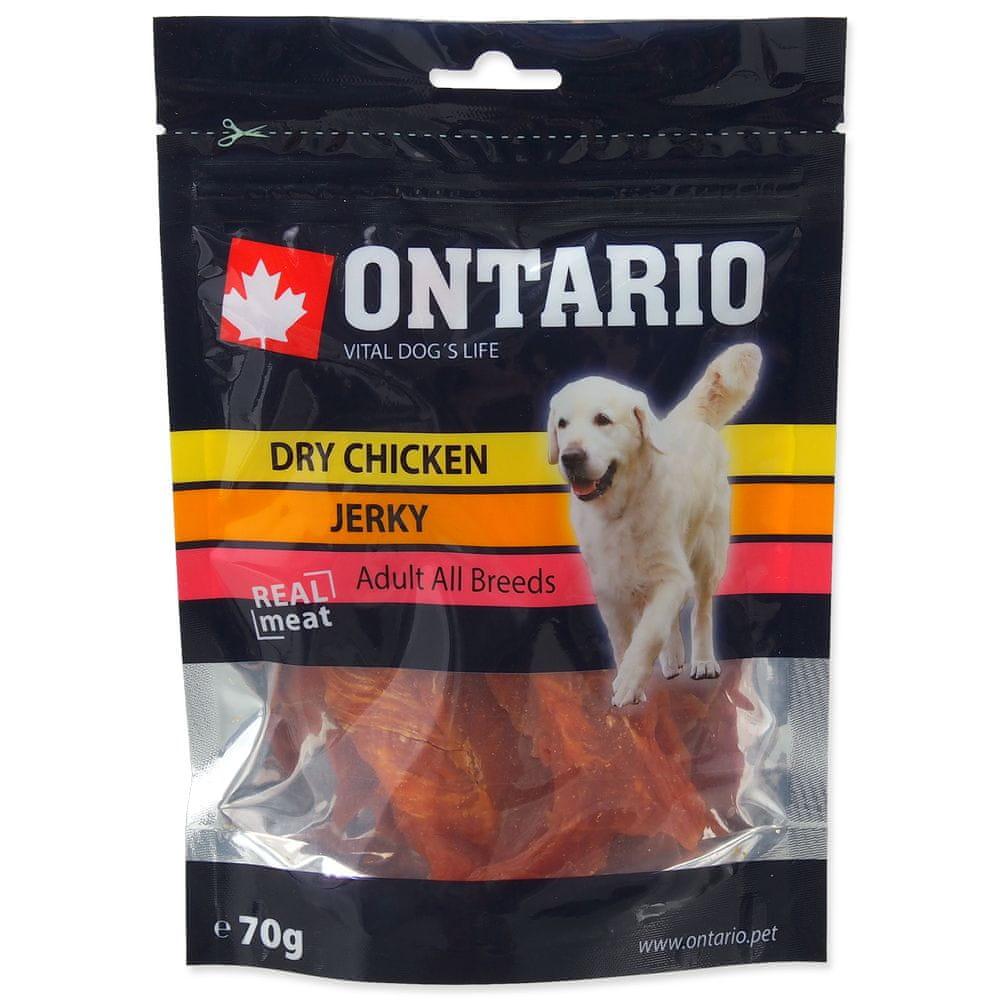 Ontario Snack Dry Chicken Jerky 6x70 g