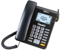 MaxCom MM 28D - stolní telefon na SIM