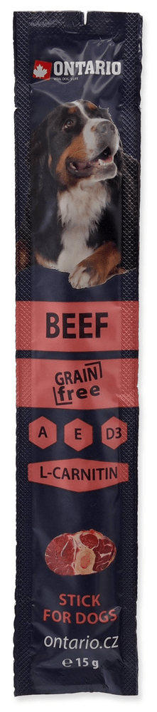 Ontario Stick for dogs beef 20x15 g