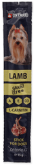 Ontario przysmak dla psów Stick for dogs lamb 20x15 g