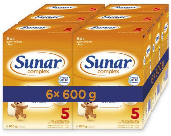 Sunar Complex 5, 6x600g