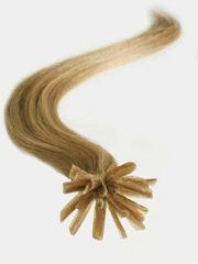 Clip-Vlasy-Levne.cz Vlasy evropského typu k prodlužování keratinem 40cm - světle hnědé 1 pramen 0,5 gramů