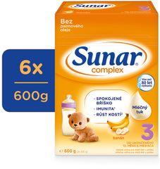 Sunar Complex 3 banán, 6x 600g
