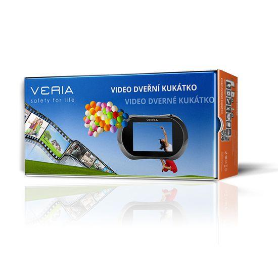 Veria Elektronické digitální dveřní videokukátko VERIA DDK 5084C CZ