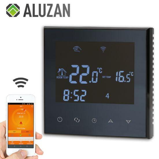 Aluzan Class E-16 WiFi, termostat s podlahovým čidlom