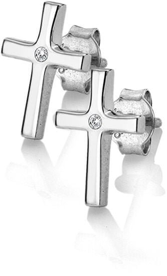 Hot Diamonds Srebrni uhani Amulets DE614 z originalnimi diamanti