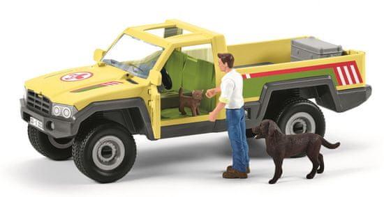 Schleich Záchranné terénní auto s veterinářem 42503