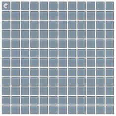 Maxwhite Mozaika H39 skleněná šedá světlá 29,7x29,7cm sklo