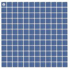 Maxwhite Mozaika L13 sklenená modrá svetlá 29,7x29,7cm sklo
