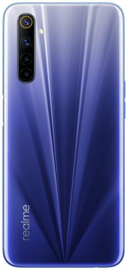 realme 6 pametni telefon, 4GB/64GB, Comet Blue