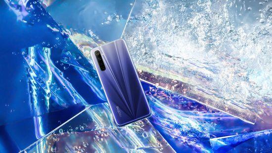 realme 6 pametni telefon, 4GB/64GB, Comet White