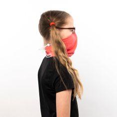 Revenium Betelný antivirový šátek s nano membránou - lososový - pro děti i dospělé - S