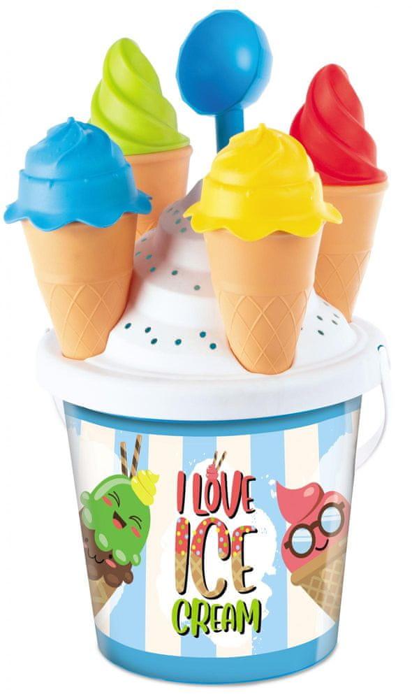 Mondo toys Sada na písek zmrzlinářství