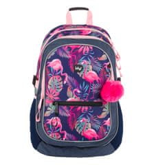 BAAGL Školský batoh Flamingo