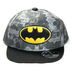 """SETINO Chlapčenská Hip Hop šiltovka """"Batman"""" - sivá - 56 cm"""
