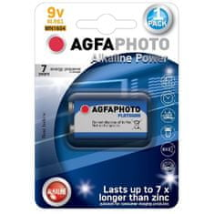 Agfaphoto Alkalická baterie Power Platinum 9V 6LR61/MN1604, 1ks blistr