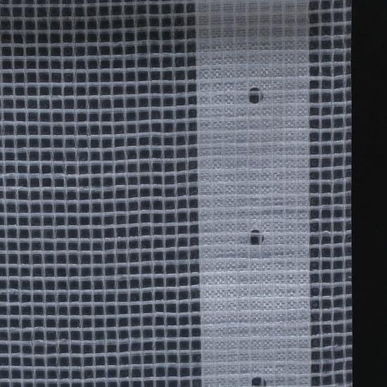 shumee Leno ponjava 260 g/m² 3x4 m bela