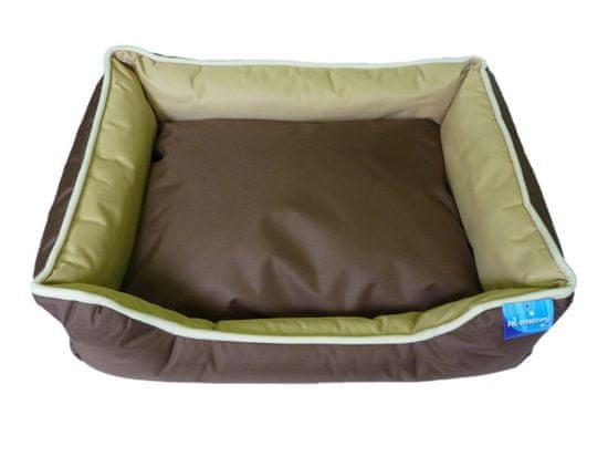 Petproducts Voděodolný hnědobéžový psí pelech - 75x58 cm
