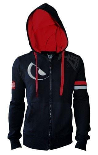 Hotspot Design Hotspot Mikina Čierna Červená-Veľkosť M