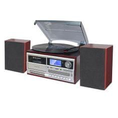 Roadstar HIF-8892 Mikrosystem EBT z gramofonem, BT, HIF-8892 Mikrosystem EBT z gramofonem, BT