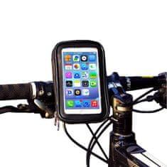 MG Bike Phone Waterproof Case držák na mobil na bicykel, černý