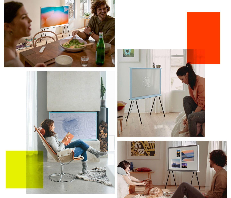 samsung tv televizor Serif Način Ambient + vreme