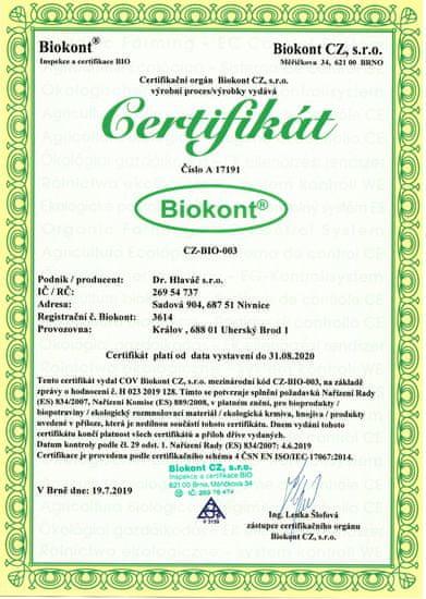 Dr. Hlaváč BIO Sirup Multivitamín 310 g BEZ přídavku CUKRU