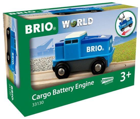 Brio WORLD 33130 Tovorno lokomitivo na baterije