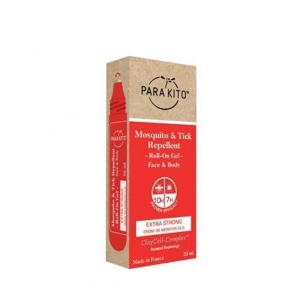 PARA'KITO Roll-on pro extra silnou ochranu proti komárům a klíšťatům
