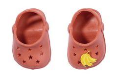 BABY born Gumové sandálky červené