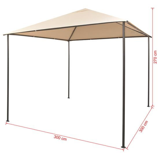 shumee Altana/namiot ogrodowy, 3x3 m, stal, beżowy