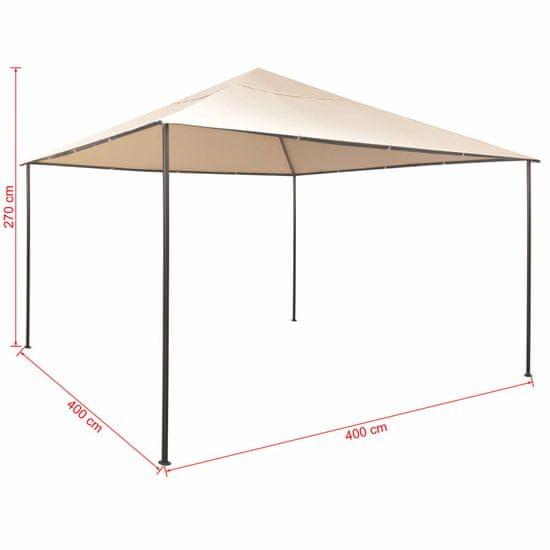 shumee Altana/namiot ogrodowy, 4x4 m, stal, beżowy