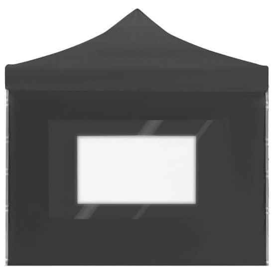 shumee Profesionalni šotor za zabave aluminij 6x3 m antracien