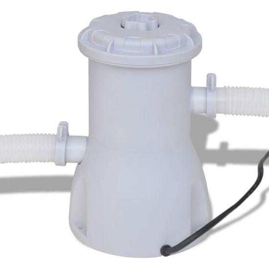shumee Filter črpalka za bazen 530 gal / h (2000 L / h)