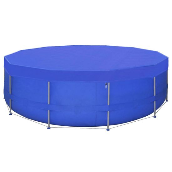 shumee Pokrivalo za bazen PE okroglo 460 cm 90 g/m²