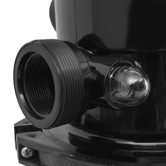 shumee Bazenski peščeni filter s 6-pozicijskim ventilom moder 460 mm