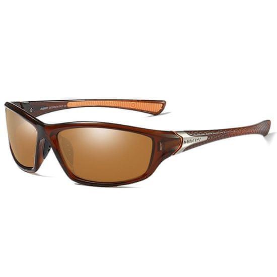 Dubery George 4 slnečné okuliare, Tea & Silver / Tea