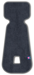 Petite&Mars vložek za avtosedež 3D Aero 0–13 kg, temno siv