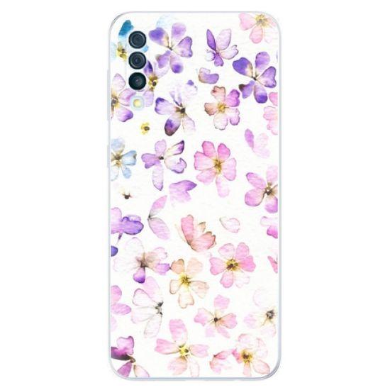 iSaprio Silikonowe etui - Wildflowers na Samsung Galaxy A50