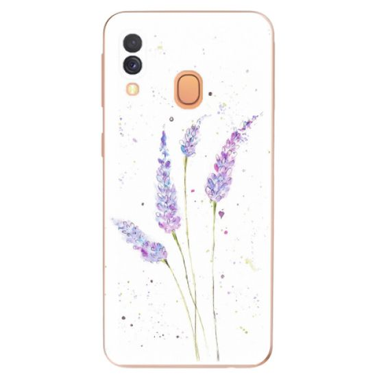 iSaprio Silikonowe etui - Lavender na Samsung Galaxy A40