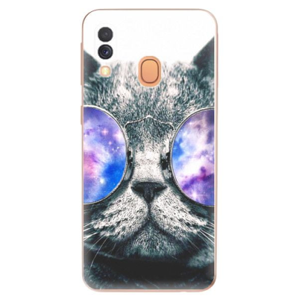 iSaprio Silikonové pouzdro - Galaxy Cat pro Samsung Galaxy A40