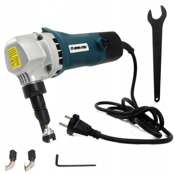 MAR-POL Elektrické stříhací nůžky na plech 550W MAR-POL M79302