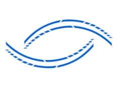 Foliatec samolepící linka na obvod kola RACING - GT modrá
