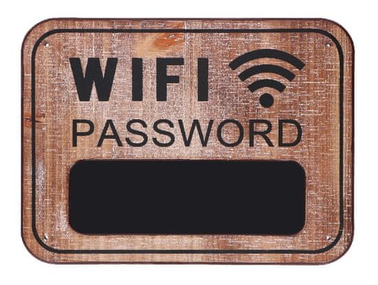 TimeLife ploča za zid za WIFI lozinku, 39x29x0,9 cm