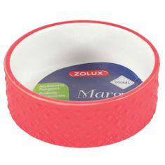 Zolux MARGOT 200 ml kerámia tál rágcsálóknak piros