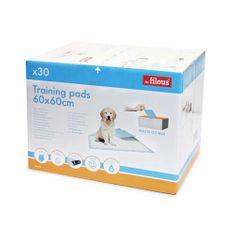 LES FILOUS PET PADS 60x60cm 30ks absorbční podložky pro štěňata