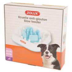 Zolux SQUARE ANTI GLUPING BOWL miska proti hltání 1,6 l 28x28x6,5 cm
