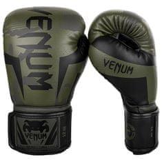 """VENUM Boxerské rukavice """"Elite"""", zelený maskáč 12oz"""