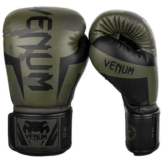 """VENUM Boxerské rukavice """"Elite"""", zelený maskáč 14oz"""