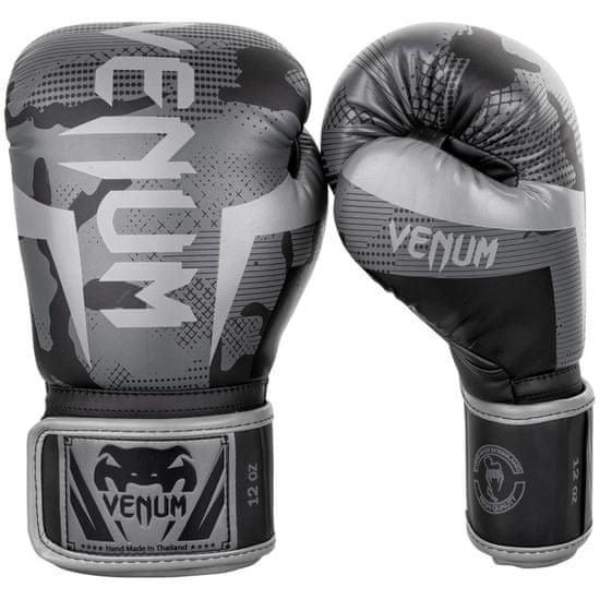 """VENUM Boxerské rukavice """"Elite"""", šedý maskáč 14oz"""